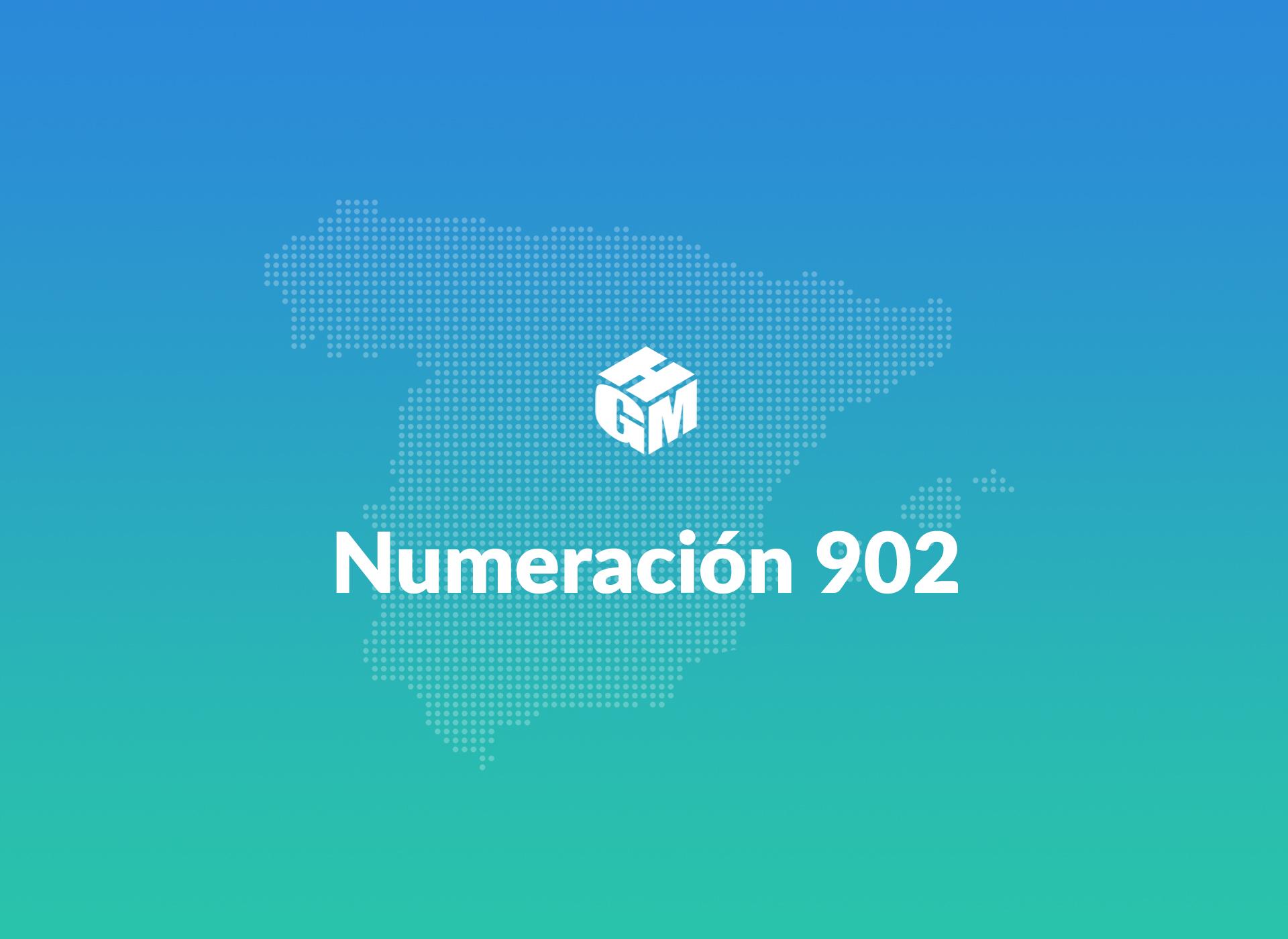 Numeración 902