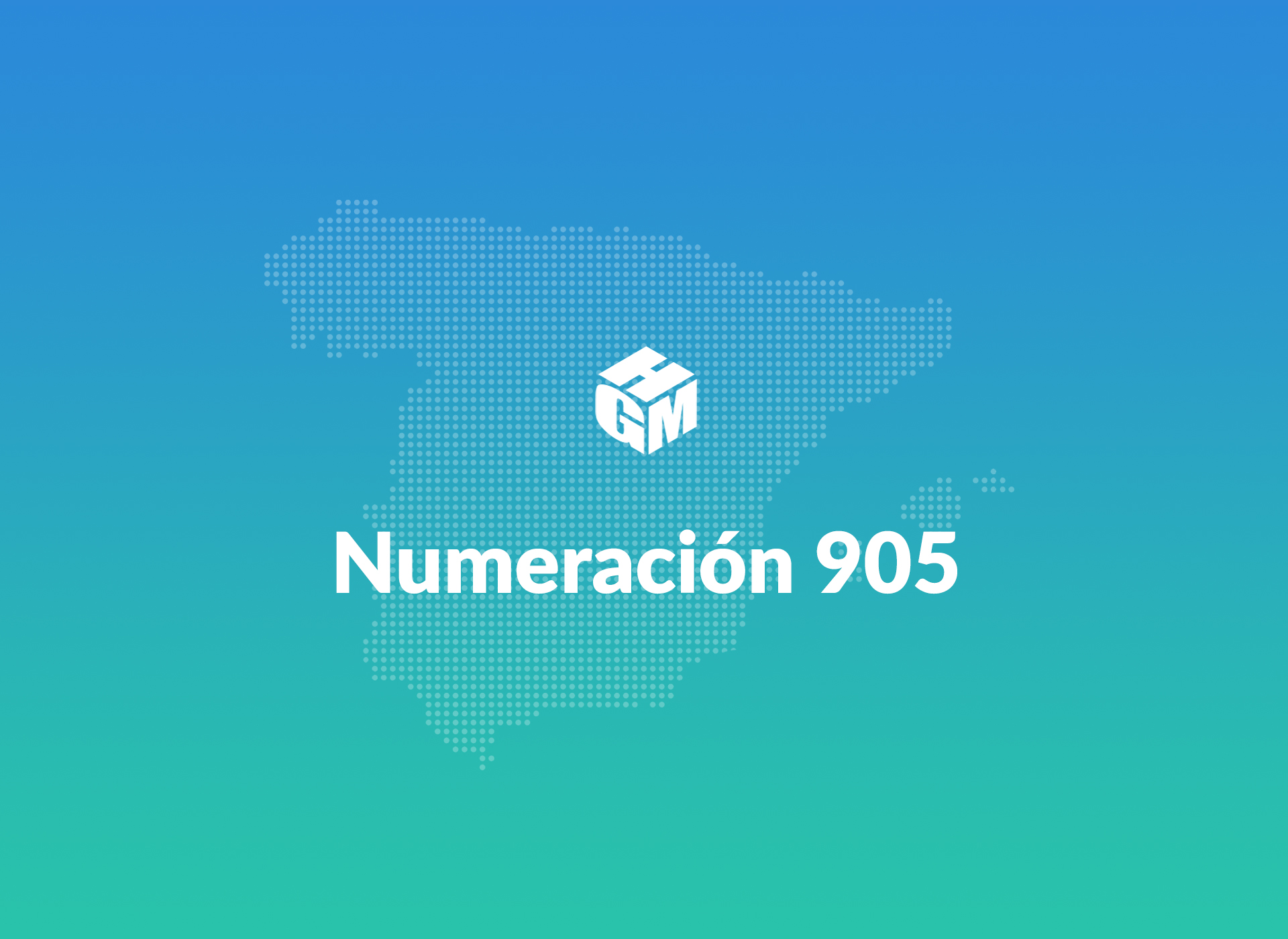 Numeración 905